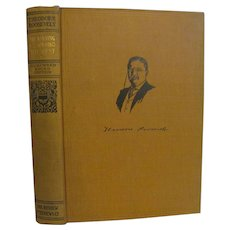 1910 Theodore Teddy Roosevelt The Winning of the West, Vol 1, Homeward Bound Edition, Publ Review of Reviews Company