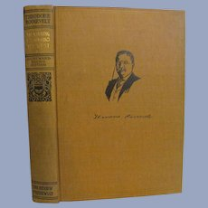 1910 Theodore Teddy Roosevelt, The Battle of New Orleans, The Naval War of 1812, Homeward Bound Edition, Volume 2, Review of Reviews Company