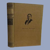 1910 Teddy Theodore Roosevelt, The Naval War of 1812, Homeward Bound Edition, Volume 1, Review of Reviews Company