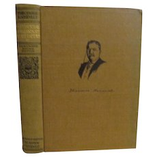 1910 Teddy Theodore Roosevelt, Presidential Addresses and State Papers, Volume 3, Homeward Bound Edition, Review of Reviews Company