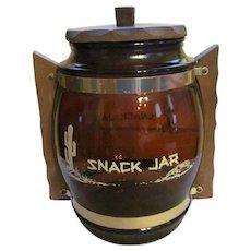 Siesta Ware Snack Cookie Jar Canister