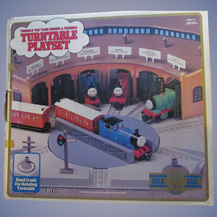 Excellent 1993 Ertl Thomas The Train Turntable Playset Mib Home Remodeling Inspirations Genioncuboardxyz