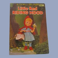 1967 Little Red Riding Hood, A Living Story Book, Crown Publishers
