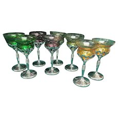 Eight Farberware Cambridge Goblets, Barware Tableware