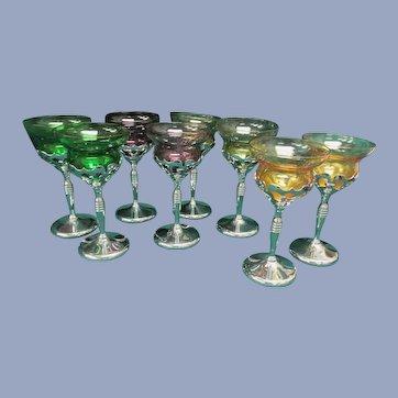 Eight Farberware Cambridge Goblets, Barware Tableware