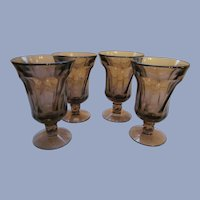 Fostoria Purple Amethyst Wine Juice Goblets