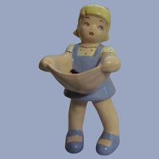 "Figural Standing 8"" Ceramci Girl"