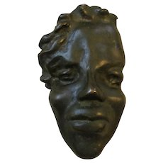 Early Irene Diggs Bronze Sculpture by Tina Dompe