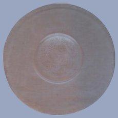 "Pink Dogwood 11.5"" Plate by MacBeth Evans"