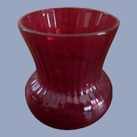 Ruby Red Toothpick Holder