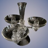 "Cambridge 6pc  10 3/4""  Candelabra Candle Holders"
