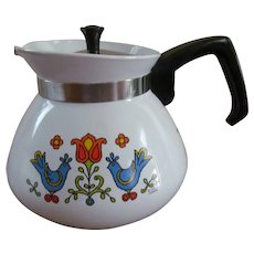 1975 Corning 6 Cup Friendship aka Country Festival Tea Pot P-104