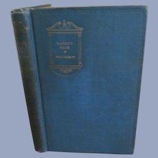 1926 Vanity Fair by Wm Thackeray, Macmillan Company. The Modern Readers Series
