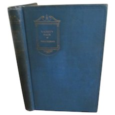1926 Vanity Fair by Wm Thackeray, Macmillan Company. The Modern Readers Series