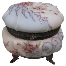 Large Lovely Wave Crest,, Ormulu Mounts Jewelry Box