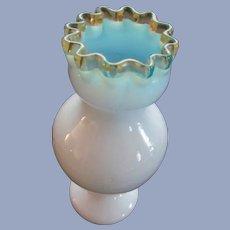 Victorian Gold Crest, Blue Cased Vase