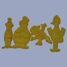 Sesame Street Muppets Cookie Cutters, 1970s