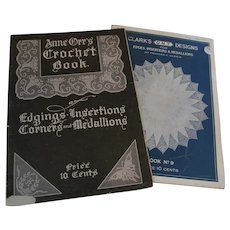 Early 1900s Crochet Edgings, Insertions, Corners and Medallions, Anne Orr Clark's Designs