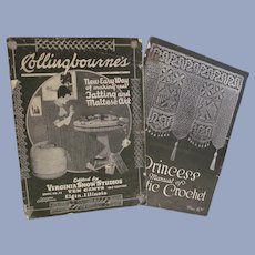1900s Tatting & Maltese Art, Artistic Crochet Booklets