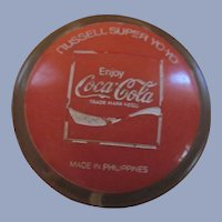 1973 Authentic Coke, Enjoy Coca Cola Russell Super YoYo