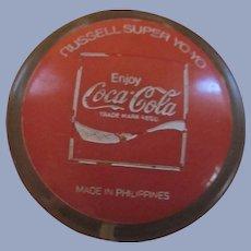 1973 Authentic Coke, Enjoy Coca Cola Russell Super YoYo