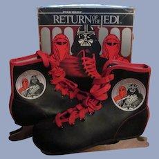1983 Star Wars Return of the Jedi, Darth Vader Ice Skates with Box