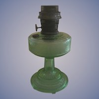 Aladdin Green Colonial Kerosene Mantel Lamp