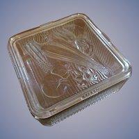 Federal Vegetable Design Refrigerator Ovenware Dish