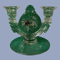 Della Robbia Westmoreland Flashed Pastel Candle Holder