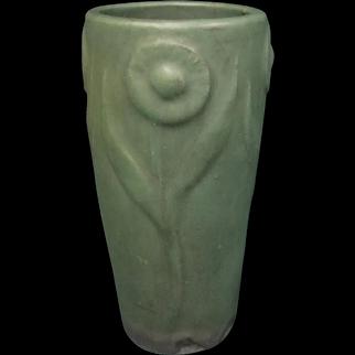 Art and Crafts Matt Green Vase