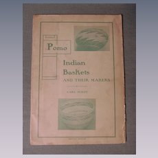 1902 Pomo Indian Baskets and Their Makers,Carl Purdy plus F M Gilham,Wholesaler Price List