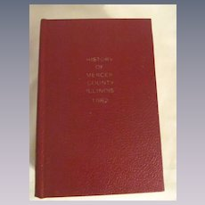 1882 History of Mercer County Illinois, Hill & Co