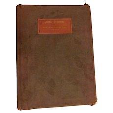 1909 Little Journeys to the Homes of Great Business Men, Elbert Hubbard, Roycroft