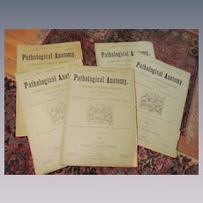 1883/84 Pathological Anatomy,Principle Diseases of the Human Body.. J A Jeancon, Progress Publishing Company,Illustrated