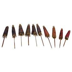 10 Vintage Ginny Umbrellas