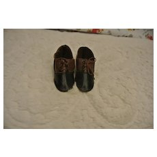 Antique German Marked Shoes Size 6
