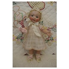 "14"" Hertel Schwab 165 Jubilee Antique Googly Toddler"