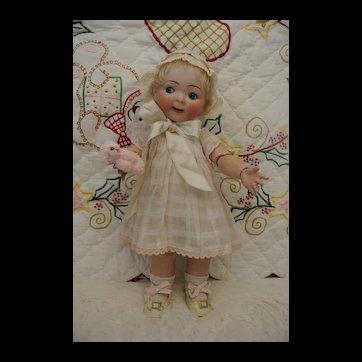 "14"" Hertel Schwab 165 Jubilee Antique Googly Toddler"