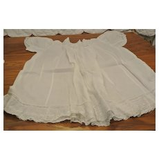 "Pretty Antique Dress-Gown-19"" Long"
