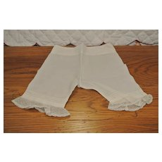 "Sweet Antique Pantaloons-10 1/2"" long"
