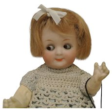 "7 1/2"" Heubach Antique Cute Googly 9573"