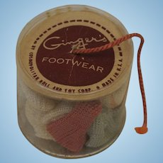 Cosmopolitan Ginger Container of Socks