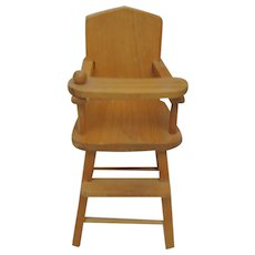 """Vintage Strombecker  High Chair for 8"""" Doll"""