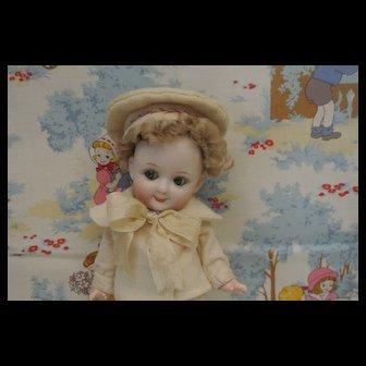 "7"" Charming Antique Heubach Googly"