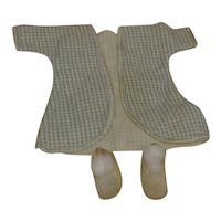 Vintage Ginny Robe and Pom Pom Slippers-Free Shipping.