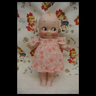 "Antique All Bisque Rare 8"" Rose O'Neill Kewpie"