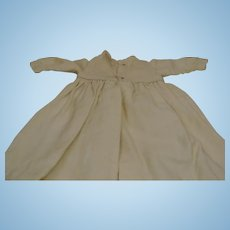 "Pretty Antique Long 24"" Wool Dress"