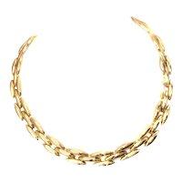 Cartier 18 Karat Gold Choker Necklace