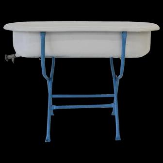 Vintage Porcelain Baby Bath