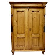 Pine Two Door Armoire